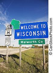 herzlich willkommen,  Wisconsin