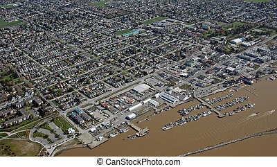 Steveston Port in Richmond, British Columbia