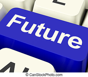 Future Key Showing Prediction Forecasting Or Prophecy -...
