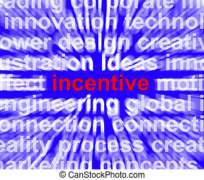Incentive Word Meaning Bonus Enticement Or Coercing -...