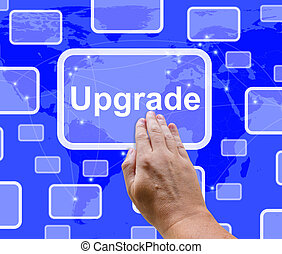 Upgrade Button Showing Software Updates To Fix Applications...