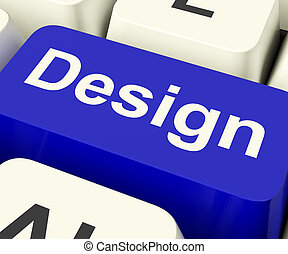 Design Computer Key Meaning Creative Artwork Online