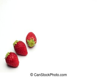 strawberry - I displayed strawberries and made an animation.