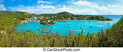 St Thomas - Beautifull bay in St Thomas US virgin islands