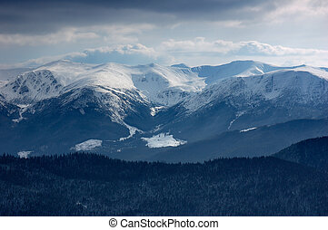 Mountain Landscape - Winter landscape in the mountains....