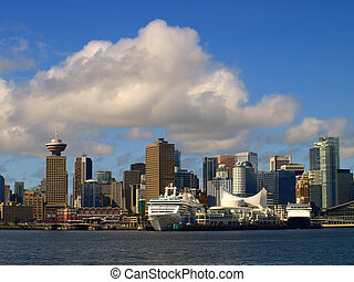 Vancouver Canada cityscape in downtown