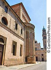 Cathedral. Parma. Emilia-Romagna. Italy.