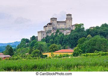 Castle of Torrechiara Emilia-Romagna Italy