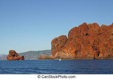 Corsica Scandola - The Nature Reserve of Scandola in...