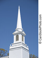 Church steeple from a New England church