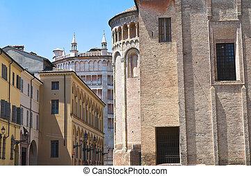 Alleyway Parma Emilia-Romagna Italy