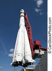 First spaceship Vostok in Kaluga Russia