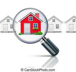 inmobiliario, concepto