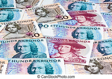 swedish crowns. sweden's currency - swedish krona, the...