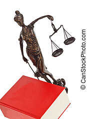 code for the court with german law. - a red code with german...
