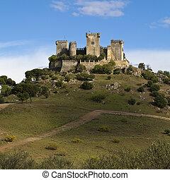 castelo, Almodovar, del, Rio