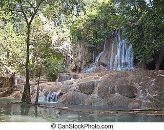Sai Yok Noi Waterfall - Sai Yok Noi waterfall, Sai Yok...