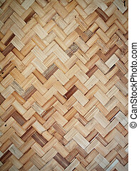 Weave background - Weave handmade from rattan natural asian...
