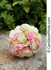 Wedding bouquet.