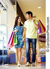 shoppen, zentrum
