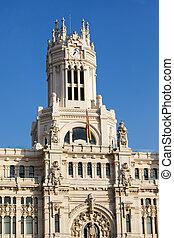 Palacio de Comunicaciones in Madrid - Palacio de...