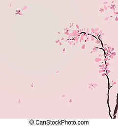 Mountain cherry tree