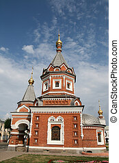 Church in Yaroslavl Russia