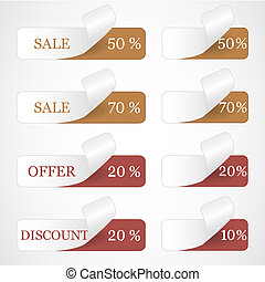 Discount labels