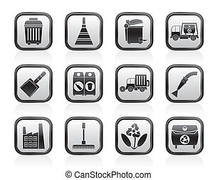 Cleaning Industry icons