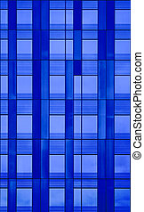 Wall of windows architectural detail. A seamless abstract...