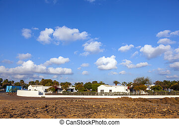 typical urbanisation resorts in Lanzarote