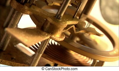 clock mechanism 25 - clock mechanism