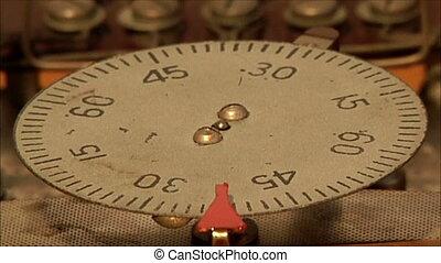 clock mechanism 20