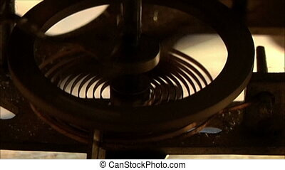 clock mechanism 19 - clock mechanism