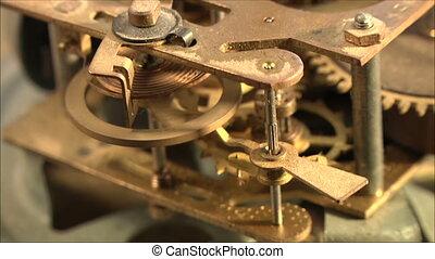 clock mechanism 17