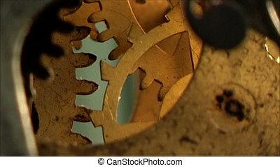 clock mechanism 13