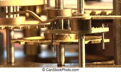 clock mechanism 12