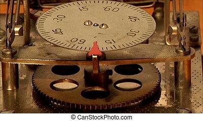 clock mechanism 3