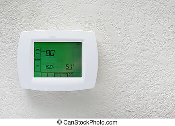Thermostat - Modern efficient programming thermostat-energy...