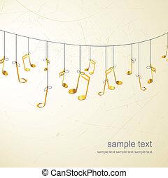 Golden notes