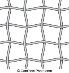 Iron net - Continuous iron net