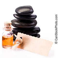 Gift of an aromatherapy massage with a luxury blank gift...