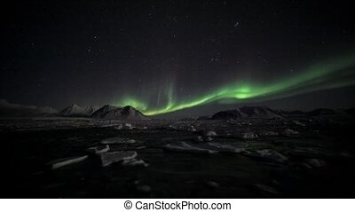 Northern Lights, Spitsbergen