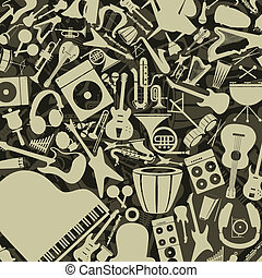 Musical background9 - Background from musical instruments. A...