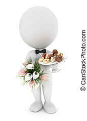 3d white people invited wedding - 3d white people invited to...