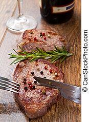 grilled meat fillet