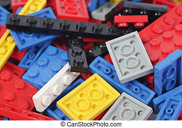 Constructor lego background - Colorful constructor lego...