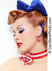 Pin-up beauty