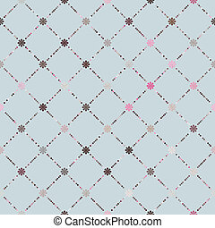 Pink brown colorful seamless pattern. EPS 8 vector file...
