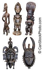 Escultura, africano